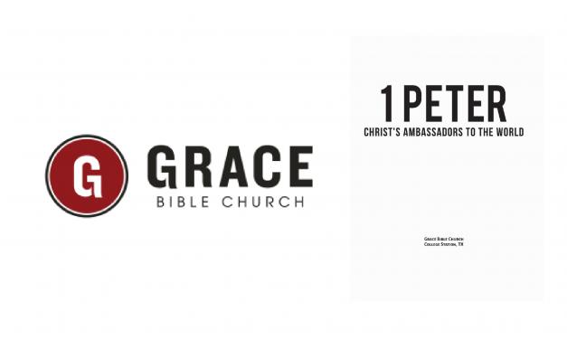 1 Peter – Christ's Ambassador's to the World